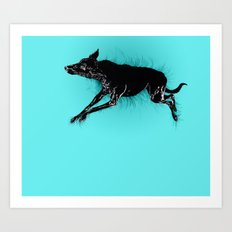 Biko Sleeping Art Print