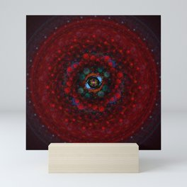 Fused Mandala Mini Art Print
