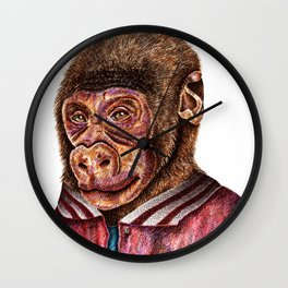 School Picture Wall Clock