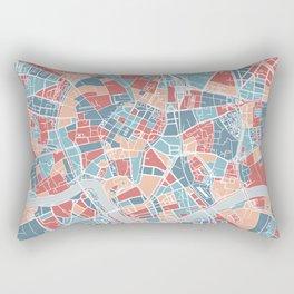 Krakow map Rectangular Pillow