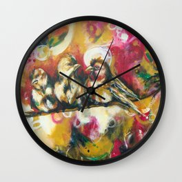 Friends Flock Wall Clock