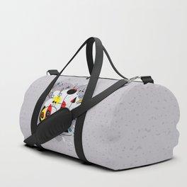 Music inspired by Joan Miro#illustration Duffle Bag