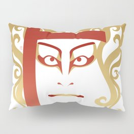 Sukeroku - a Kabuki Portrait Pillow Sham