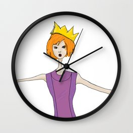 A Crown for Every Party Wall Clock