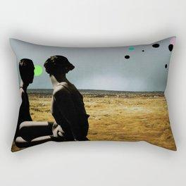The Looking Field Rectangular Pillow
