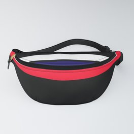TEAM COLORS 2 ...red, blue Fanny Pack
