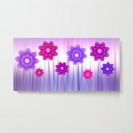 Flower meadow Metal Print