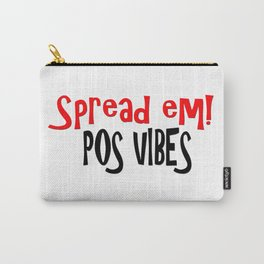 Spread Em! Pos Vibes Red Carry-All Pouch