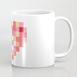 Squares of Love Coffee Mug