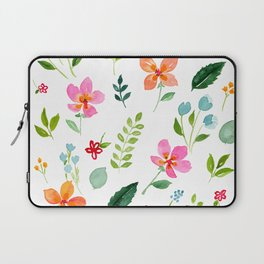All Things Bright - White Laptop Sleeve