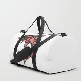 Floral Shark Duffle Bag