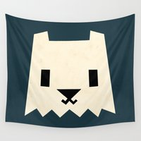 yeti Wall Tapestries featuring Yeti by Yetiland