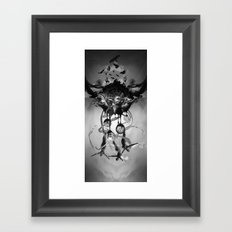 The time has come Framed Art Print