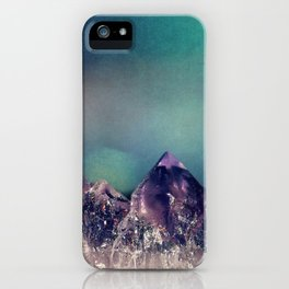Mini Mountains iPhone Case