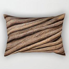 Licorice root in diagonal lines Rectangular Pillow