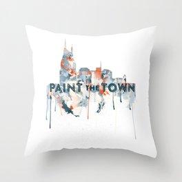 + Nashville Skyline + Throw Pillow
