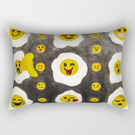funny side up Rectangular Pillow