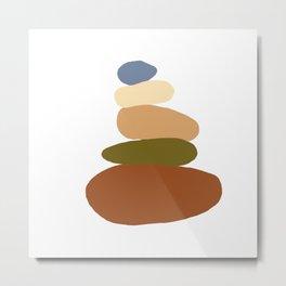 Balanced 2 Metal Print