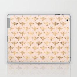 Honey Bees (Pink) Laptop & iPad Skin