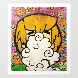 Shaggy the stoner Art Print