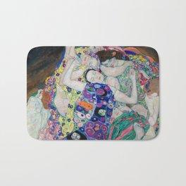 The Maiden Gustav Klimt Bath Mat