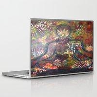 namaste Laptop & iPad Skins featuring Namaste by Tiffany Alcide
