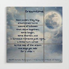 Dreamtime   Pamala Ballingham Wood Wall Art