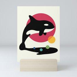 Jump Over Mini Art Print
