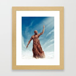 Finger of Prometheus Framed Art Print