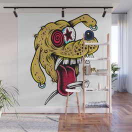 Crazy Dawg 2 Wall Mural
