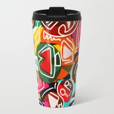 Life is beautiful street art graffiti Travel Mug