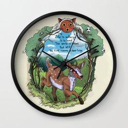 Keep Living Wall Clock