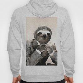 Gentleman Sloth in Smart Posture Hoody