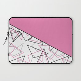 Abstract pink combo pattern . Laptop Sleeve