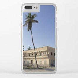 Salalah Beach Clear iPhone Case