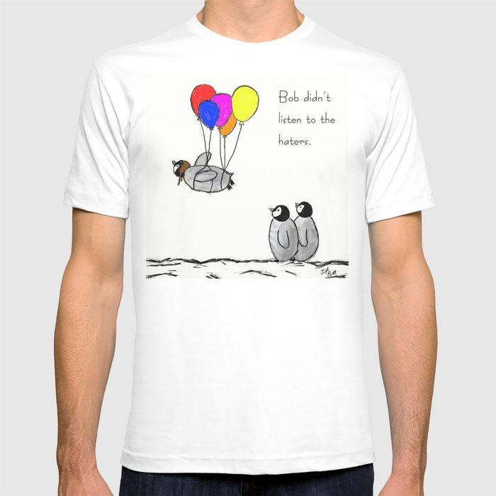 To be a Flying Penguin T-shirt