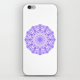 Mandala 12 / 4 eden spirit purple iPhone Skin