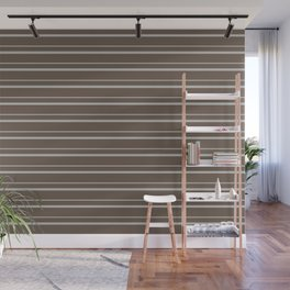 Benjamin Moore 2019 Color of the Year 2019 Metropolitan Light Gray on Mustang Brown 2111-30 Wall Mural
