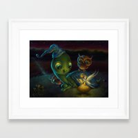 fairy tale Framed Art Prints featuring Fairy Tale by Alicia Templin