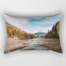 Autumn at Bird Creek Rectangular Pillow