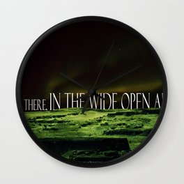 Its Opener There... Wall Clock