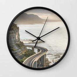 Sea Cliff Bridge, Australia Wall Clock
