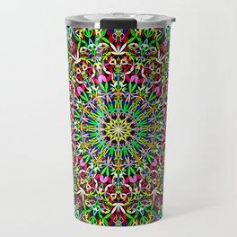 Happy Jungle Mandala Travel Mug