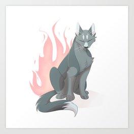 Like Fire Art Print