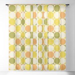 That 70s Summer ~ DISCO Sheer Curtain