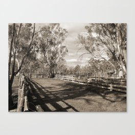 The Yards Canvas Print