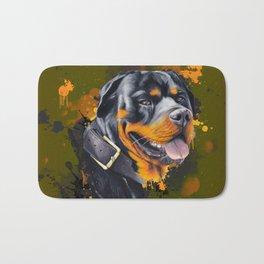 Rottweiler Bath Mat