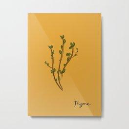 Thyme Metal Print