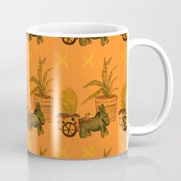 Garden Donkey Coffee Mug
