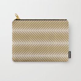 Palm Symmetry - Neutral Green Carry-All Pouch